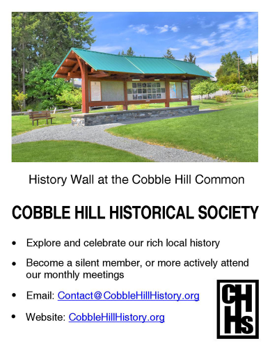 Cobble Hill Historical Society 2021
